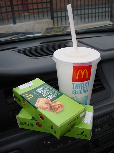 Food to set on your dash.