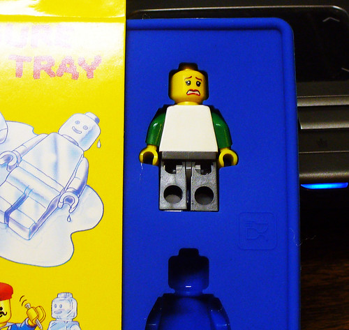 Minifig in Ice Cube Tray