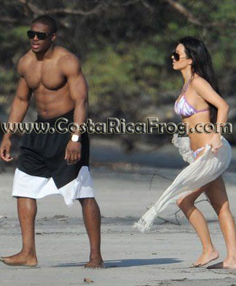 reggie bush and kim kardashian 2011. Reggie Bush and Kim Kardashian