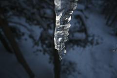 Icecicle (Zach Dischner) Tags: trip winter snow mountains ice colorado hut western icicle slope 10thmountaindivision