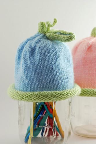Sweet Pea Hat - Blue