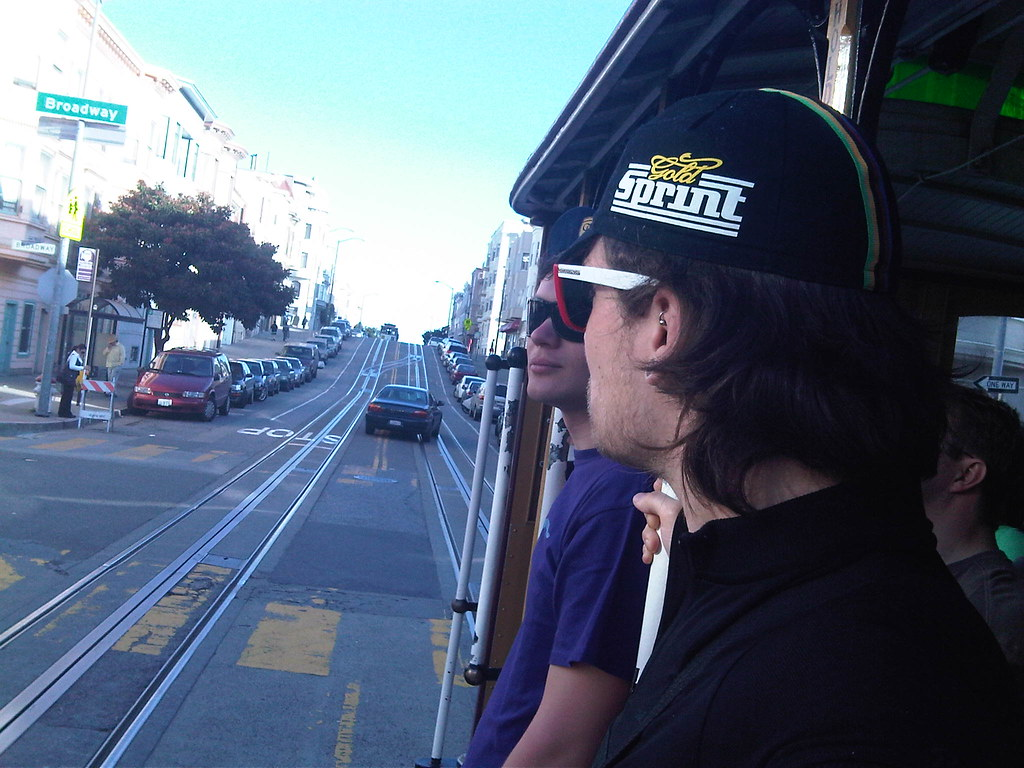 Cable car ride to the bike rental