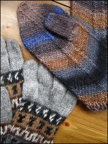 I won these gloves!
