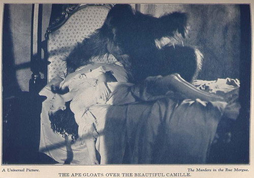 Photo from THE MURDERS IN THE RUE MORGUE Photoplay Adaptation