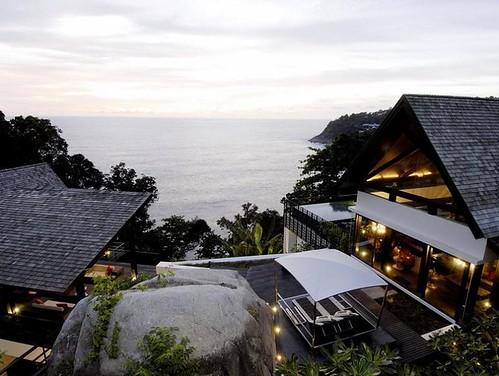 paradijselijke villa in thailand