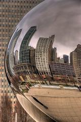 Chicago (Sabreur76) Tags: chicago geotagged illinois midwest milleniumpark theloop cloudgate thebean anishkapoor hdr franksinatra vicen photomatix parkgrill nikond80 attplaza feli tamron18270 sabreur76 vicenfeli thattoddlingtown geo:lat=41882533 geo:lon=87623393