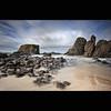Ballintoy Arch (Reed Ingram Weir) Tags: longexposure seaweed water coast landscapes rocks northernireland daytime archs seastacks ballintoy 06s 10stop leefilters reedingramweir extremend