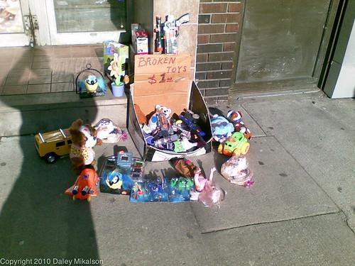 Broken Toys $1