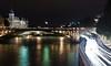 Late night lights (A-DC) Tags: light paris france seine night canon photography eos lumière creative nuit adc artdc effetfilé 1000d