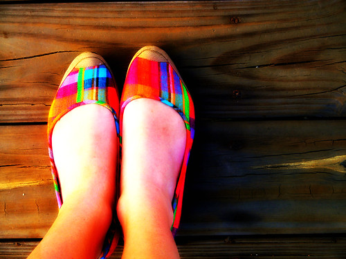 vibrant shoes