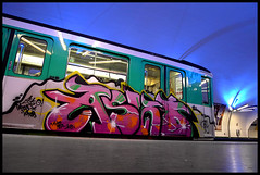 ASKO (Thias (-)) Tags: streetart paris wall train painting subway graffiti mural panel metro roulant spray urbanart painter graff aerosol asko bombing spraycanart wholecar pgc thias ligne3 photograff gatoslocos frenchgraff photograffcollectif