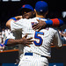 David Wright Hugs Luis Castillo