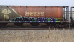 Craver & Raksoh (Fr8 Fiend) Tags: train graffiti graf graff hopper freight sdk crave killas stompdown