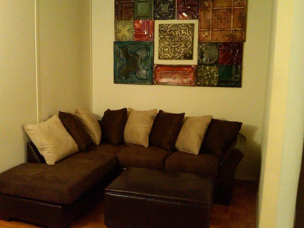 tiles with couch