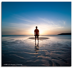The Arrival (DanielKHC) Tags: morning blue light sunset music beach water sunrise hope interestingness high nikon dubai ray glow shine dynamic song album air 14 uae blues halo landing explore story beginning farewell elements emergence ripples goodbye arrival tune range fp frontpage dri hdr d300 newbeginning danielcheong danielkhc tokina1116mmf28 gettyimagesmeandafrica1