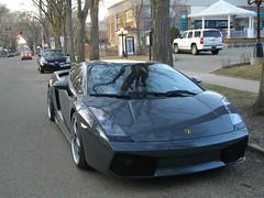 Lamborghini Superleggera (blondygirl) Tags: auto car italian exotic spotted lamborghini supercar spotting streetview gallardo sportscar lambo carspotting superleggera lamborghinigallardosuperleggera batteryisdying