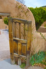 old chapel door (wplynn) Tags: door newmexico southwest religious catholic doors passages mission healing entries entry chimayo chimay piety elsantuariodechimayoshrine chimayoshrine