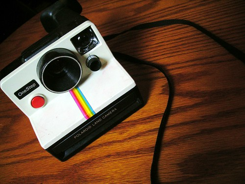 Polaroid One Step Land Camera