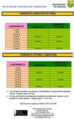 Horarios buses Vitoria Labastida (ida y vuelta) (josemiguel_80) Tags: