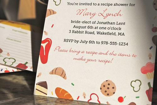Sweet & Savory Shower Invitation