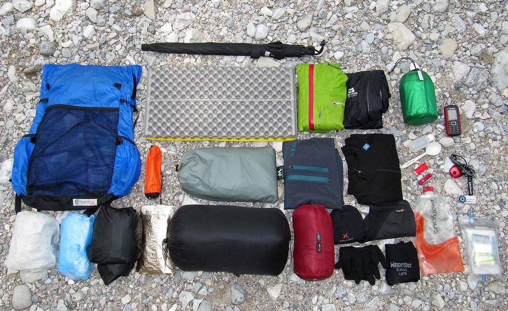 Lightweight Backpacking Gear, Ausrüstung Ultraleicht