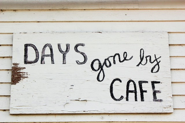 Days Gone By cafe