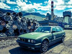 Selection 2016 (spline_splinson) Tags: bmw bmw525ix bmwe34 switzerland armycar schweiz suisse vauplus trimmis graubã¼nden ch