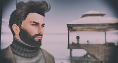 Mr. Wilner caught @ Chamber (desiredarkrose) Tags: secondlife sl mesh male chamber portrait paparazzi avatar virtuelworld virtuel maleportrait men classic