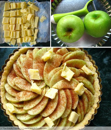 Butter, Apples and a Tart ready for the oven