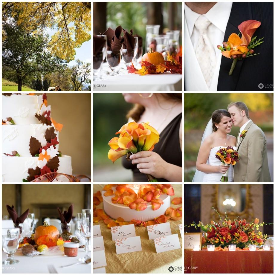 Fall Wedding Color Ideas: Fall Wedding Inspiration Board
