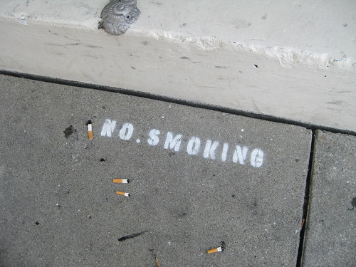 No Smoking? by coolmikeol, on Flickr