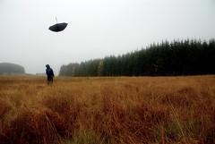 Raining brollies.... (Nicolas Valentin) Tags: nature wet water rain umbrella landscape scotland scenery aqua ufo nicolasvalentin
