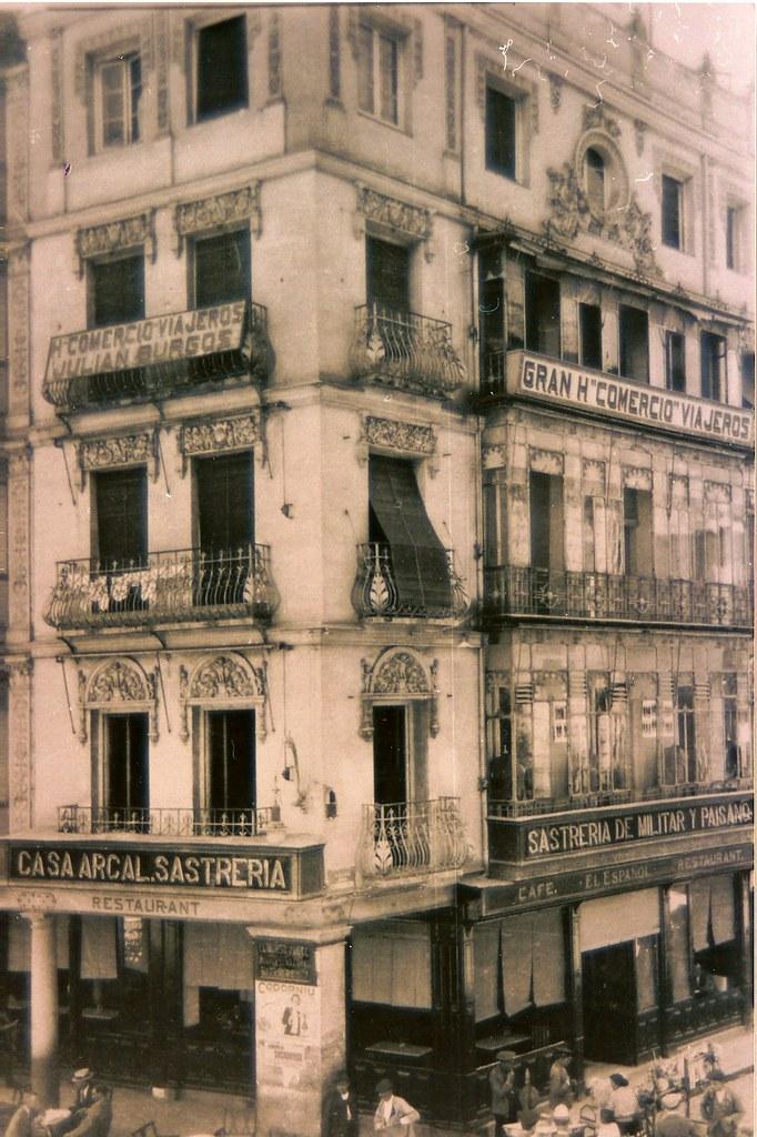 Café Español de Toledo al poco de ser inaugurado
