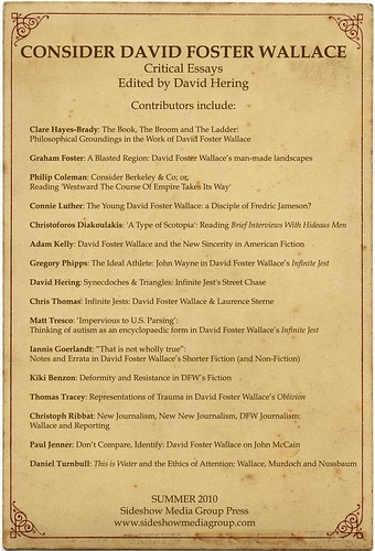 The Turbulent Genius of David Foster Wallace Consider david foster wallace critical essays   Consider david foster  wallace critical essays david hering