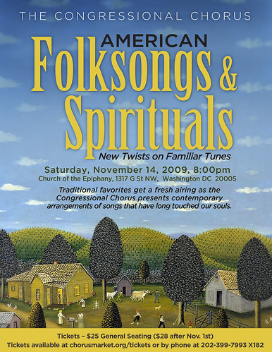 Folksongs flyer