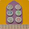 Hand-Stamped fabric covered buttons (Memi The Rainbow) Tags: mushroom metal scrapbooking mushrooms hand handmade stamps buttons sewing rubber made fabric cotton tiny kawaii embellishment button accessories supplies brads stamped zakka shank decole fastener japanesefabric handcarved coveredbutton fabriccovered fabriccoveredbuttons handmadebuttons decolello kawaiicutegift vichycotton handcarvedstampedbuttons