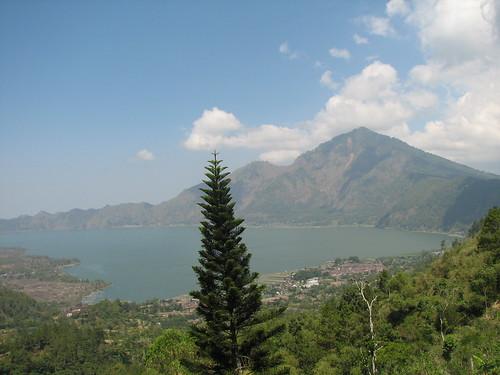 Batur Volcano and Lake, Kintamani, Bali