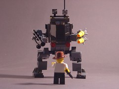 Indiana Jones and Betrayal of Common Sense (Mdrn~Mrvls) Tags: lego space military scifi missiles weapons mech