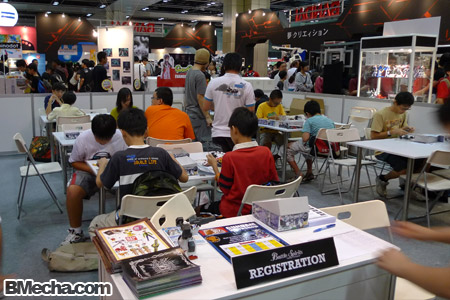 AFA 2009 Bandai Activity Area