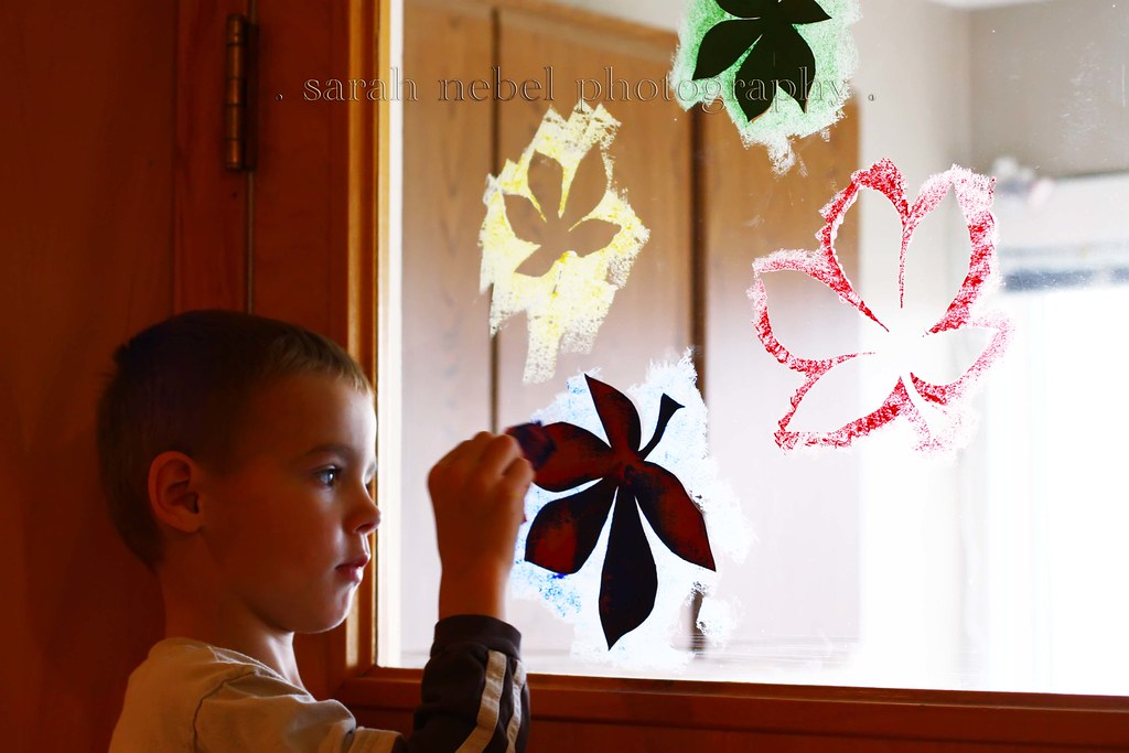 . window painting .