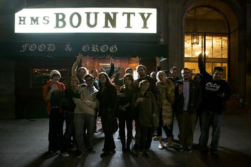 Outside the bounty