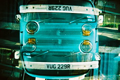 VW Camper Van 180 (Explore) (25ThC) Tags: camera film 35mm holga lomo xpro lomography exposure doubleexposure crossprocess double explore barber british 100 analogue kodakelitechrome100 explored 135bc holga135bc 25thc