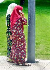 KL Woman on the Phone (fotofrysk) Tags: malaysia malaka travelkualalumpur
