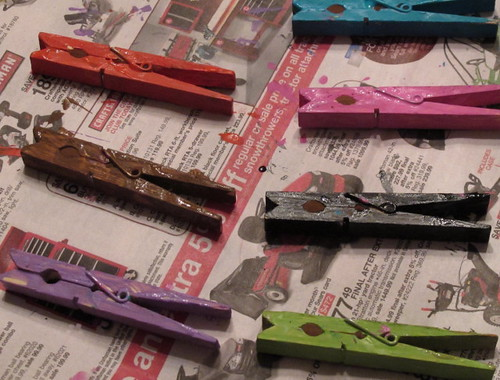 Clothespin Close-ups