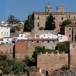 Cáceres: alzado este general panoramico