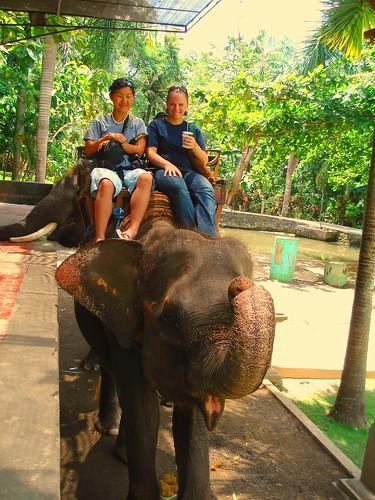 Bali - elephant ride