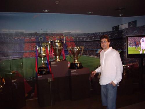 Copa, Liga y Champions