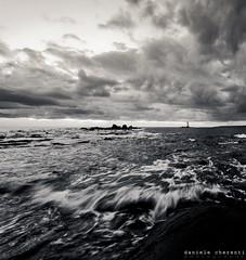 Waves (Daniele Cherenti | DCphotography) Tags: sardegna costa motion landscape mare sardinia biancoenero onde calasetta sigma1020mmhsm mangiabarche nikond300 danyc80 dcphotography wwwdanielecherentiit fotografoportoscuso