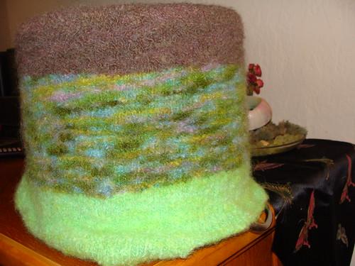 Green Felted Bag (4)