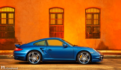 Turbo in Contrast (Part II) (Mishari Al-Reshaid Photography) Tags: blue orange reflection cars car contrast canon reflections cool automobile low wheels fast exotic turbo german porsche kuwait canondslr canoneos automobiles sporty kuwaitcity sportscar sportscars carphotos carphotography 997 24105 canonef24105f4l gtm carphoto canoncamera canonphotos canoneflens 24105mm canonllens mishari canonef24105f4lis kuwaitphoto kuwaitphotos 580exii kuwaitcars kvwc gtmq8 kuwaitvoluntaryworkcenter kuwaitvwc canon580exiiflash kuwaitphotography misharialreshaid porschephoto malreshaid misharyalrasheed